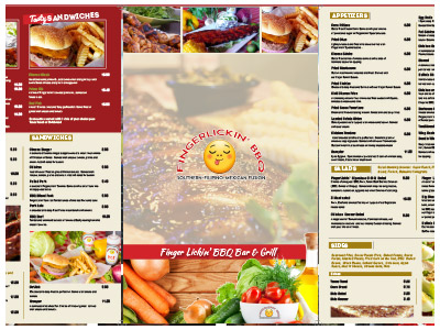 restaurant menu design bradenton